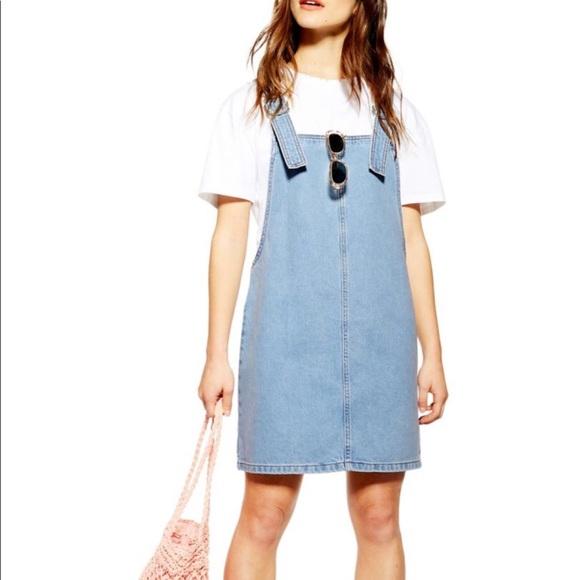 Topshop Dresses & Skirts - NWT Topshop Denim Dress